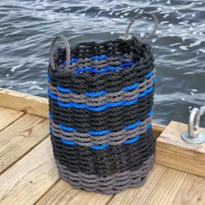 Black & Blue Lobster Rope Basket