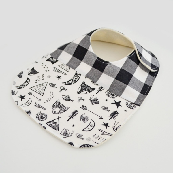 Two Little Beans Bibs - Adventure