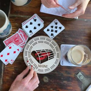 Lobster Laser Cut Cribbage Boards