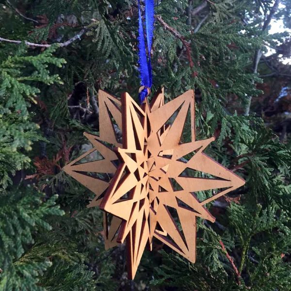 Crown 3D Snowflake Ornament