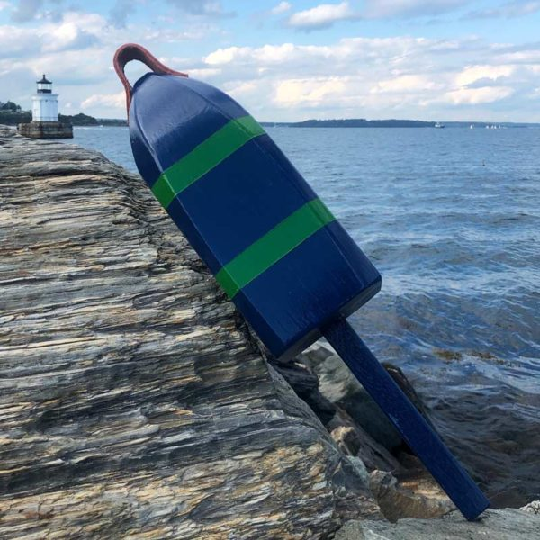 Navy & Green Buoy
