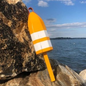 Yellow & White Buoy