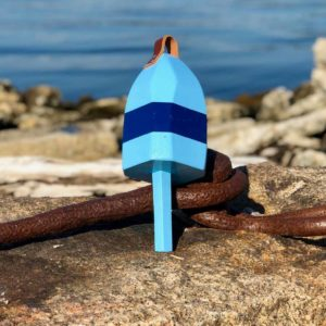 Small Light Blue & Navy Buoy