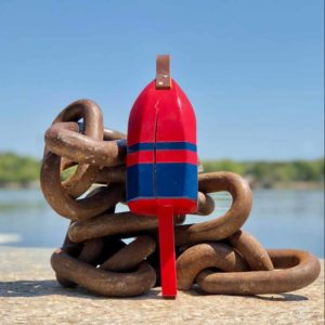 Small Red & Navy Buoy