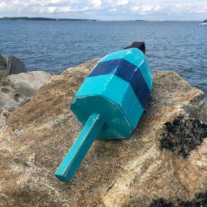 Small Teal & Navy Buoy