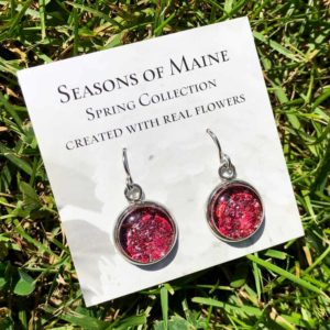 Geranium Earrings