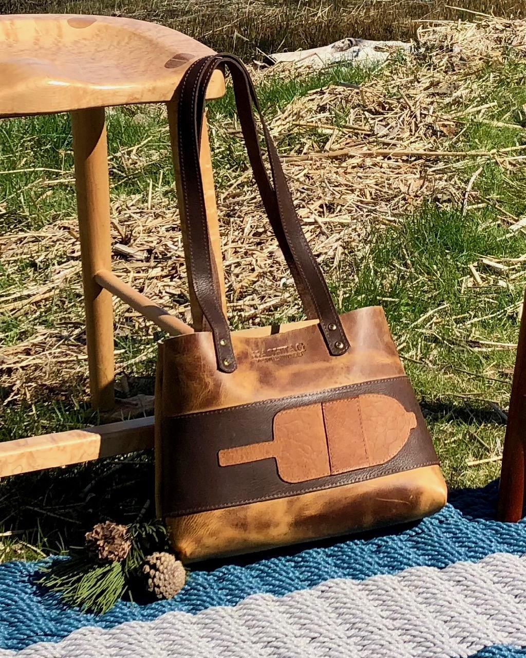 Hashtag Leatherworks Lisa Marie S Made In Maine