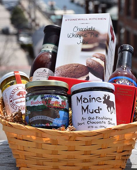 Maine Made Gift Basket, Sweet Tooth Maine Made Gift Basket