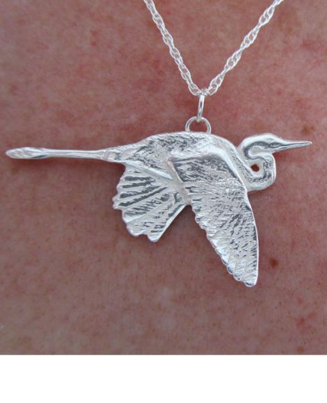 Heron Necklace - Bejewel ME