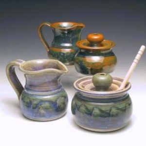 Unity Pond Pottery Sugar and Creamer Sets