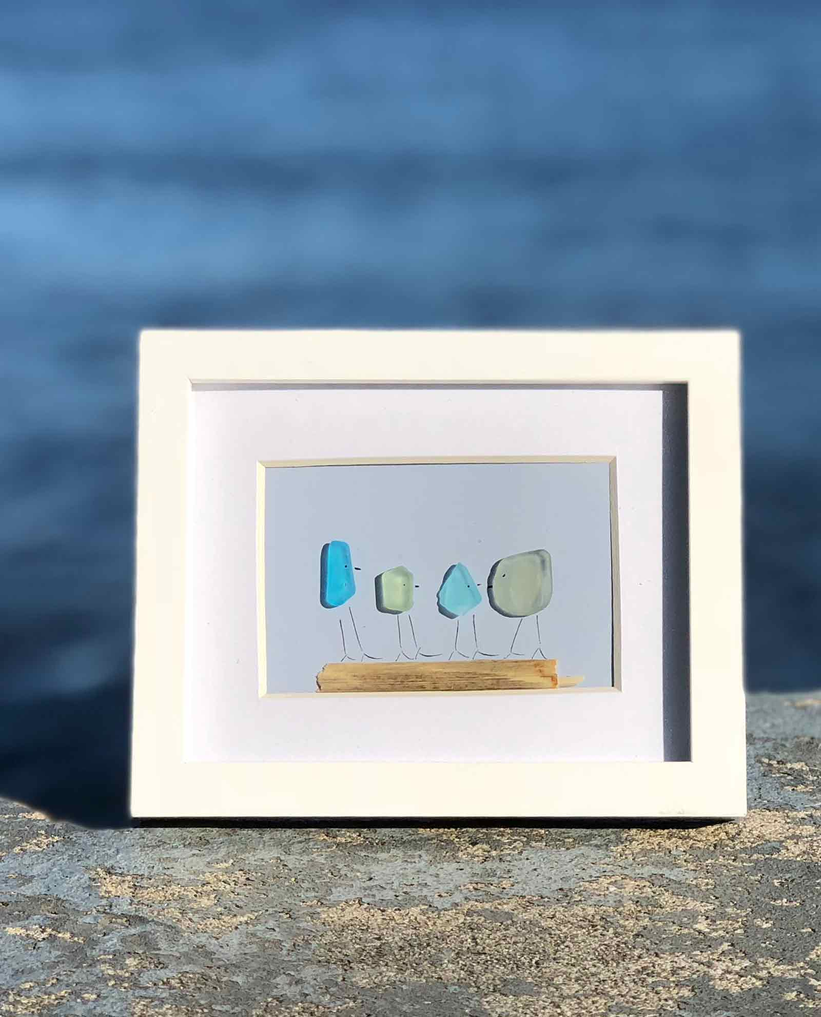 Sea Glass Frames Lisa Maries Made In Maine