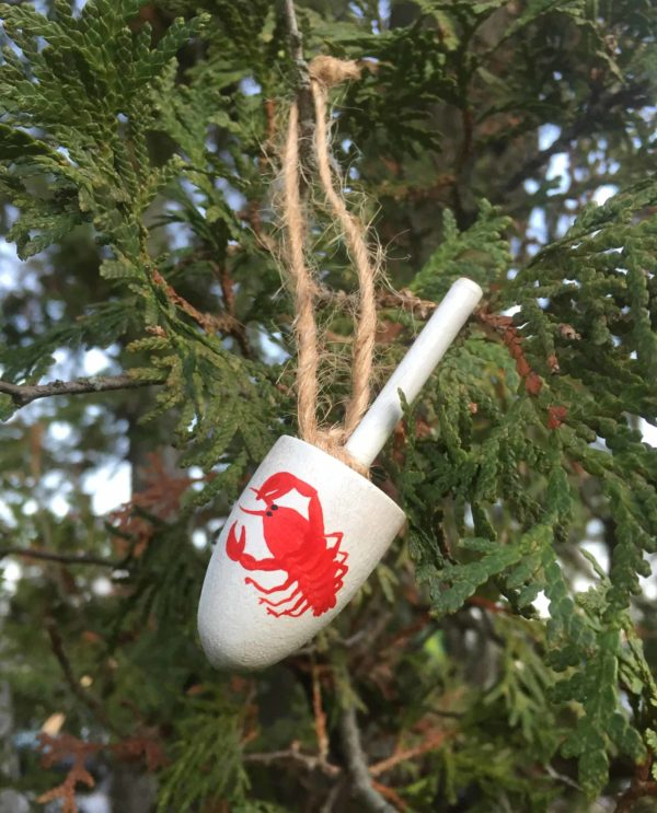 Lobster Buoy Ornament