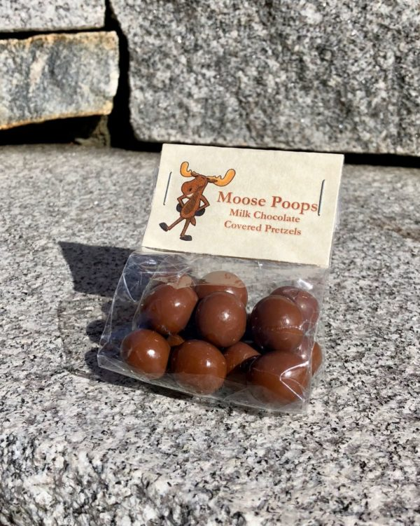 Moose Poop Candy - Milk Chocolate Covered Pretzel
