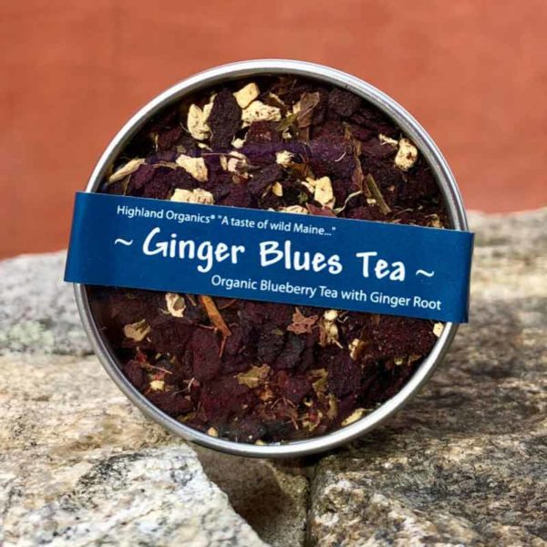 Ginger Blues Tea