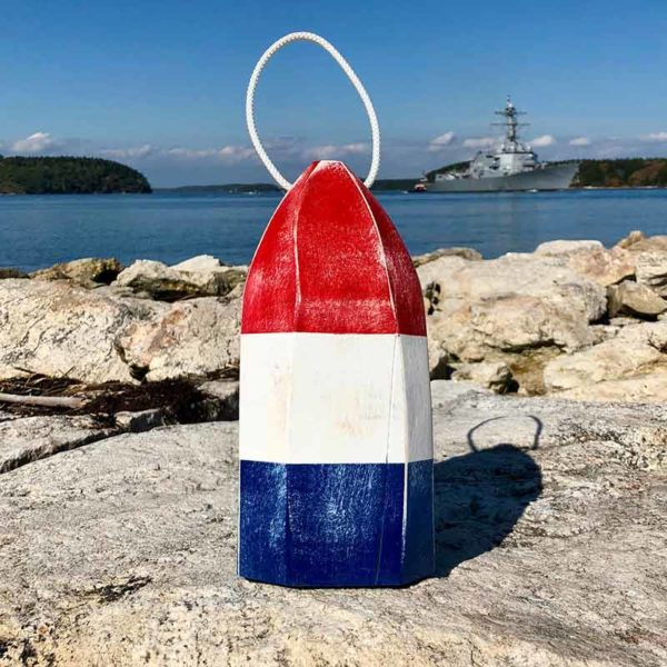 Red, White & Blue Buoy Centerpiece