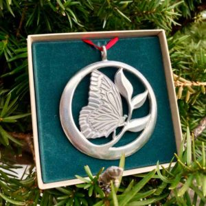 Butterfly Ornament by Lovell Designs