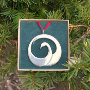 Swan Ornament by Lovell Designs