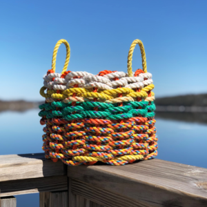 Foliage Lobster Rope Basket