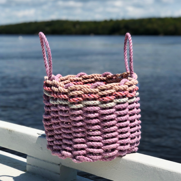 Lilac Lobster Rope Basket