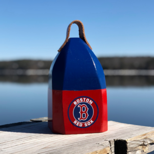Red Sox Buoy Centerpiece