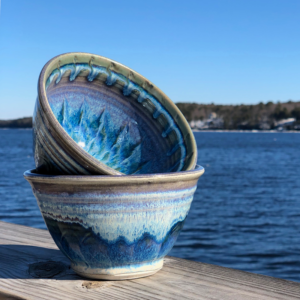 Noodle Bowl in Fred's Glaze by Unity Pond Pottery