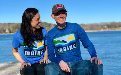 Blue Maine Shirts