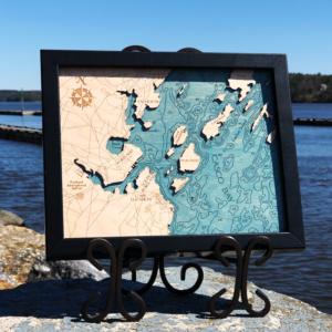 Casco Bay 2D Map