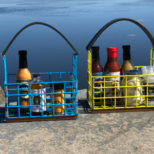 Lobster Trap Condiment Caddy