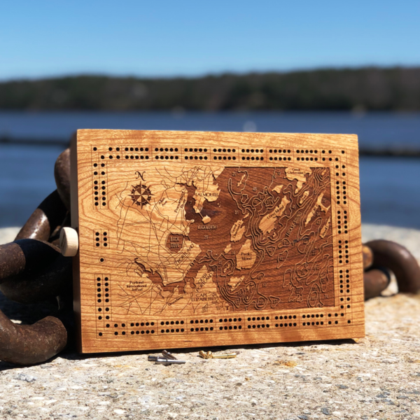 Casco Bay Cribbage Board