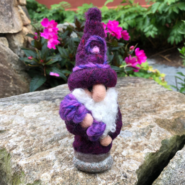 Purple Home Gnome