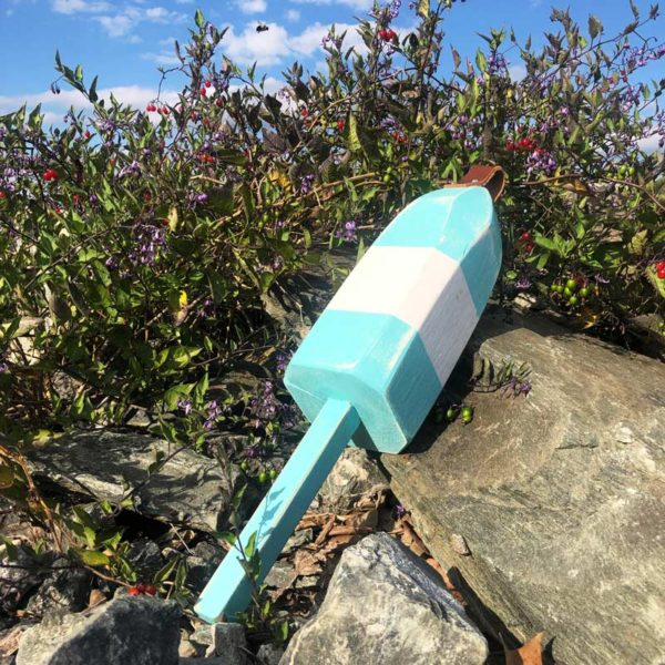 Teal & White Buoy