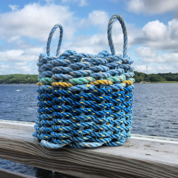 Blues Lobster Rope Basket