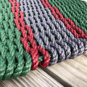 Holly Lobster Rope Doormat