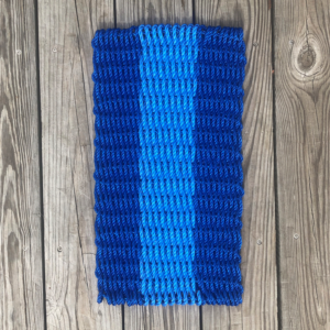 Blue Lobster Rope Doormat
