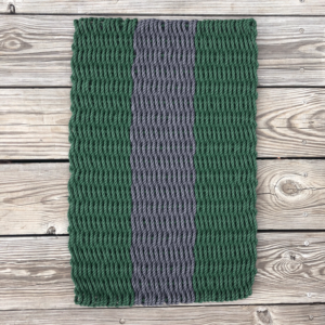 Forest & Charcoal Lobster Rope Doormat